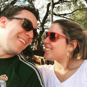 Eleonora Reis e Caio Freire, noivos na vida real e na quadrilha da Festa Junina do Colégio do Carmo