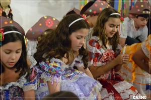"""Alunos apresentaram a finalização do projeto """"Cordelistas do Carmo"""" no último sábado, dia 06."""